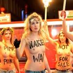 """Facebook censura a las activistas de Femen por """"mostrar pornografía"""""""